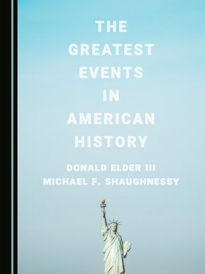 cover image of The Greatest Events in American History