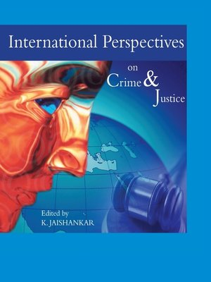 cover image of International Perspectives on Crime and Justice