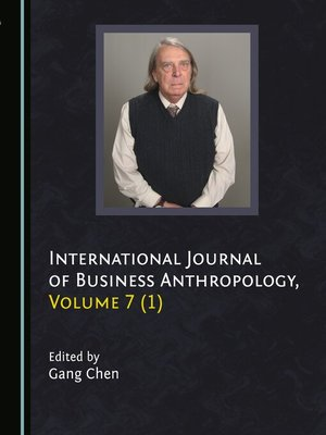 cover image of International Journal of Business Anthropology, Volume 7 (1)