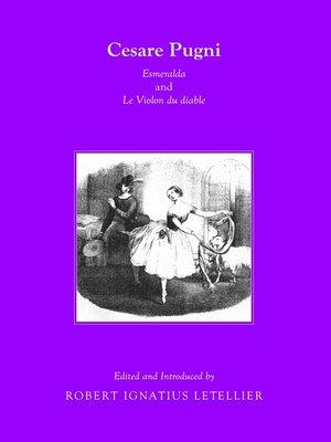 cover image of Cesare Pugni: Esmeralda and Le Violon du diable