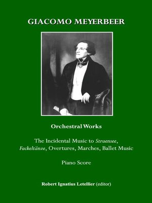 cover image of Giacomo Meyerbeer Orchestral Works