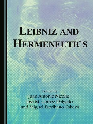 cover image of Leibniz and Hermeneutics