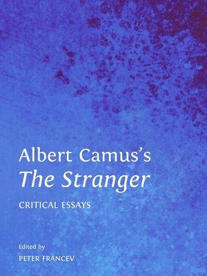 cover image of Albert Camus's The Stranger