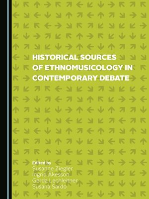cover image of Historical Sources of Ethnomusicology in Contemporary Debate