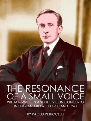 cover image of The Resonance of a Small Voice