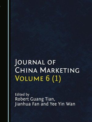 cover image of Journal of China Marketing, Volume 6 (1)