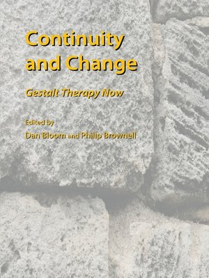 cover image of Continuity and Change