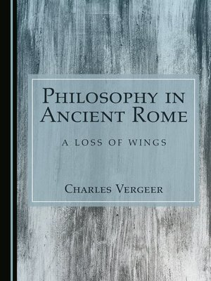 cover image of Philosophy in Ancient Rome