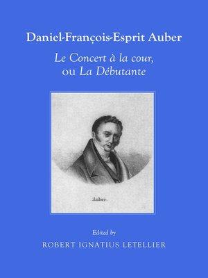 cover image of Daniel-François-Esprit Auber