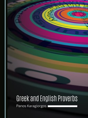 cover image of Greek and English Proverbs