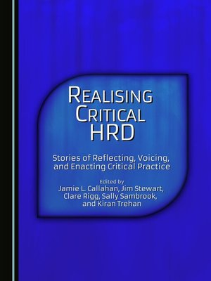 cover image of Realising Critical HRD