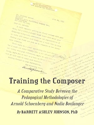 cover image of Training the Composer