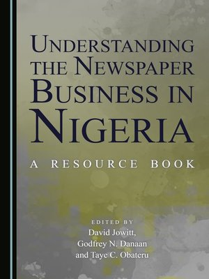 cover image of Understanding the Newspaper Business in Nigeria