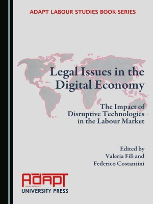 cover image of Legal Issues in the Digital Economy