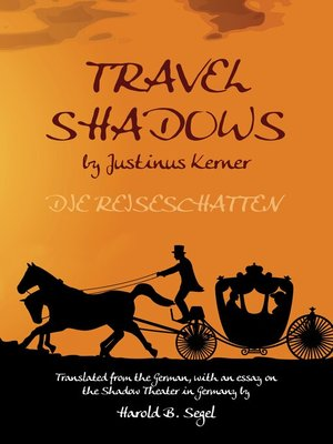 cover image of Travel Shadows by Justinus Kerner