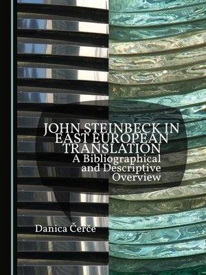 cover image of John Steinbeck in East European Translation