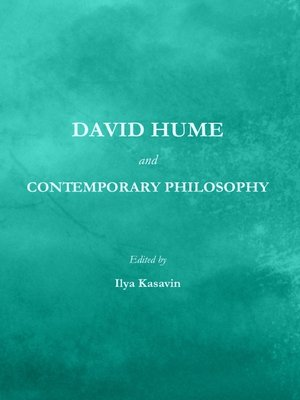 cover image of David Hume and Contemporary Philosophy