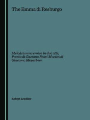cover image of Emma di Resburgo