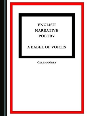 cover image of English Narrative Poetry