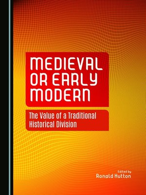 cover image of Medieval or Early Modern