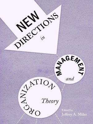 cover image of New Directions in Management and Organization Theory