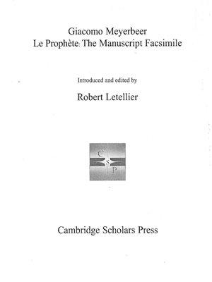 cover image of Le Prophète