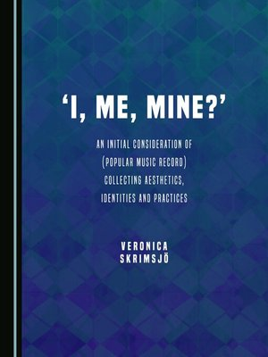 cover image of I, Me, Mine?'