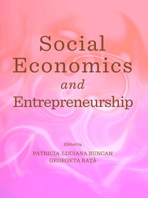 cover image of Social Economics and Entrepreneurship