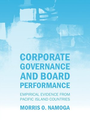cover image of Corporate Governance and Board Performance