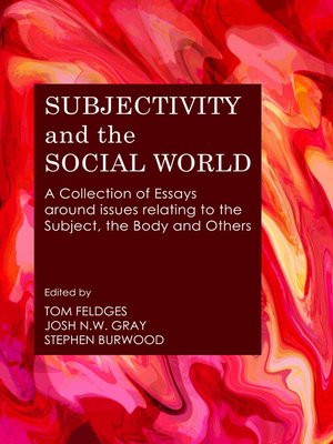 cover image of Subjectivity and the Social World