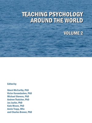 cover image of Teaching Psychology around the World, Volume 2