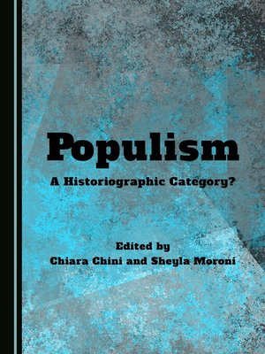 cover image of Populism