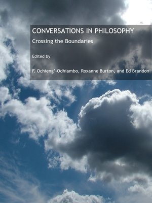 cover image of Conversations in Philosophy