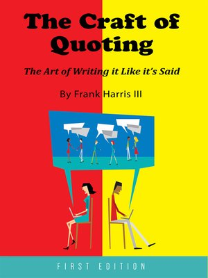 cover image of The Craft of Quoting