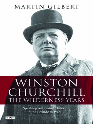 cover image of Winston Churchill - the Wilderness Years