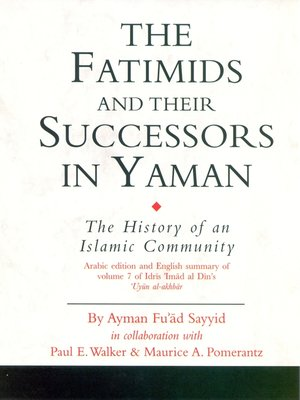 the fatimids and their successors in yemen pdf