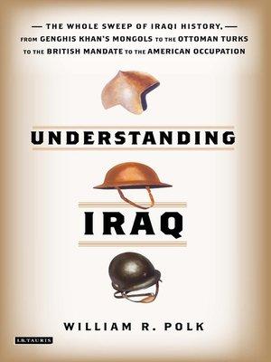 cover image of Understanding Iraq