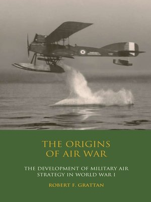 cover image of The Origins of Air War