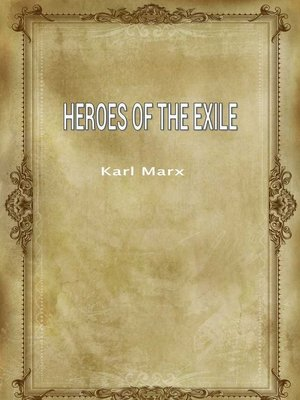 cover image of Heroes Of The Exile