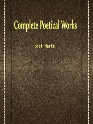 cover image of Complete Poetical Works