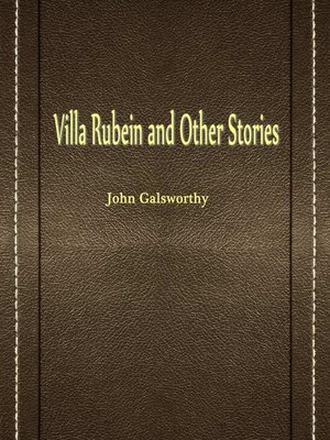 cover image of Villa Rubein And Other Stories