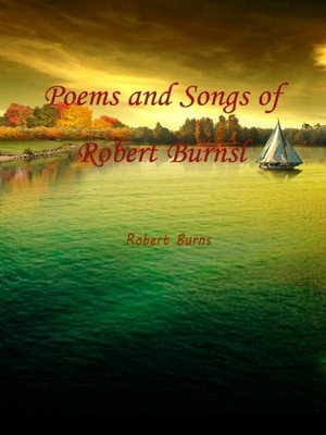 cover image of Poems And Songs Of Robert Burnsl