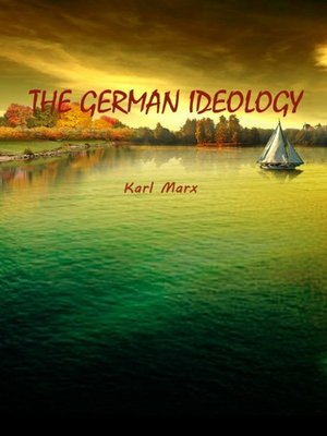 cover image of The German Ideology
