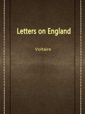 cover image of Letters On England