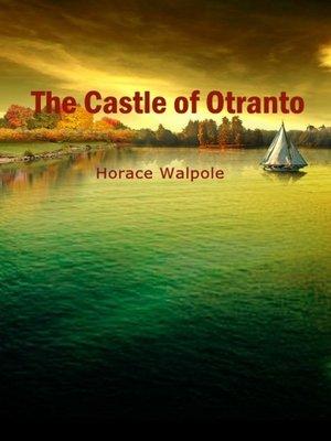 cover image of The Castle Of Otranto