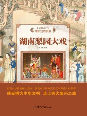 cover image of 湖南梨园大戏