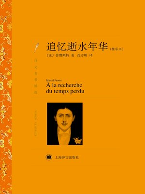 cover image of 追忆逝水年华(精华本)(译文名著精选)(In Search of Lost Time (Essence) (selected translation masterworks))
