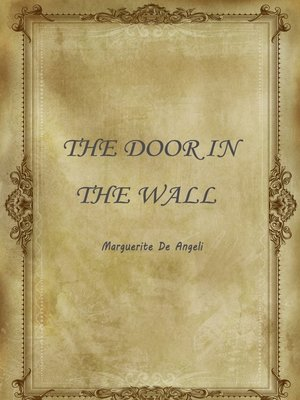 the door in the wall audiobook by marguerite de angeli