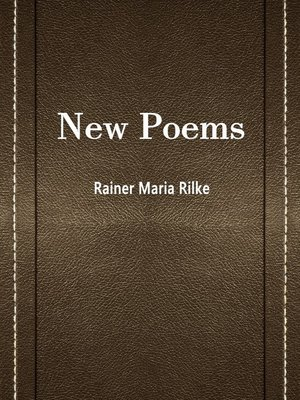 cover image of New Poems