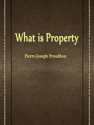 cover image of What Is Property